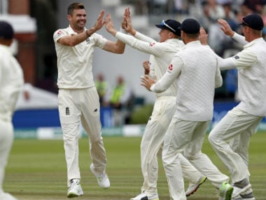 James Anderson will once again be key for England against India at Trent Bridge.  AP