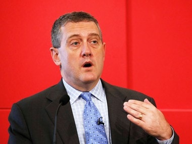 File pic of St. Louis Federal Reserve President James Bullard . Reuters