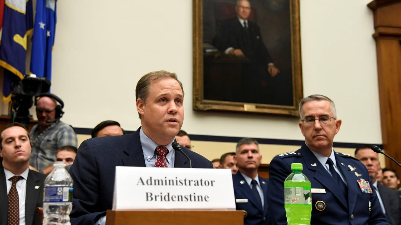 NASA Administrator Jim Bridenstine. Reuters