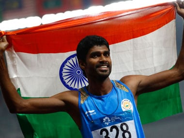 Highlights, Asian Games, Day 11: Jinson Johnson bags men's 1500 metres gold; women's team wins 4x400 relay