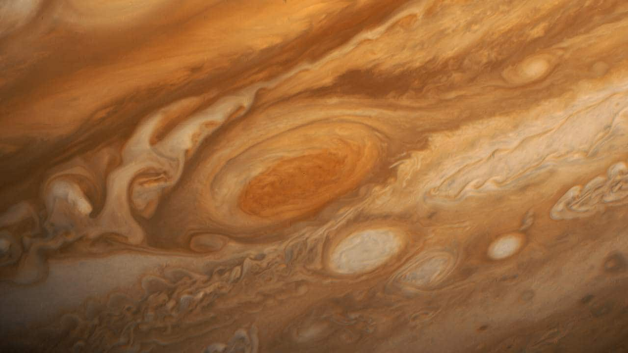 NASA spots water in Jupiters deepest clouds above the planets Great Red Spot