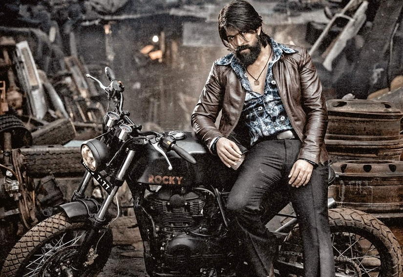 Yash in KGF. Image via Twitter