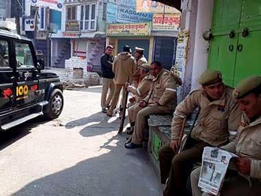 File image of Uttar Pradesh Police. PTI