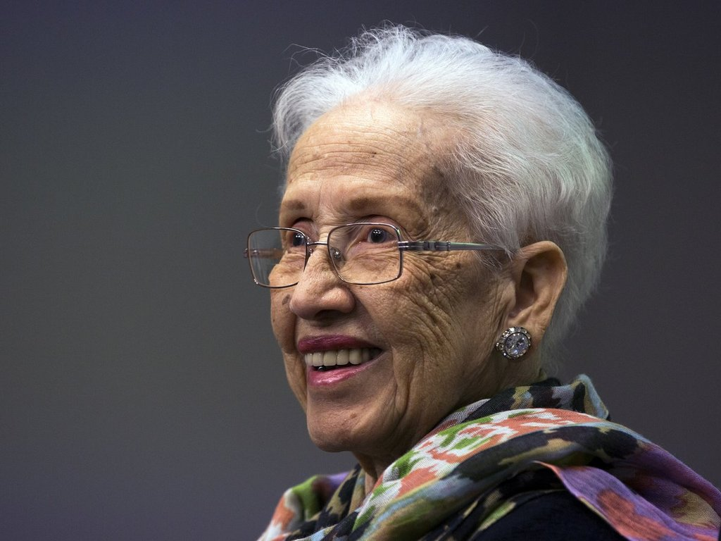 Katherine Johnson. Image: NASA