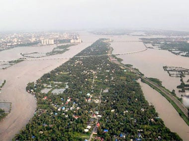 A file photo of Kerala floods. PTI