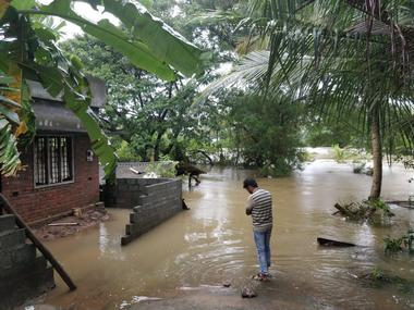 A man stands outside his house in Olavakode, Kalpathy  in Palakkad district, Kerala. Image credit: Mohan Kumar K