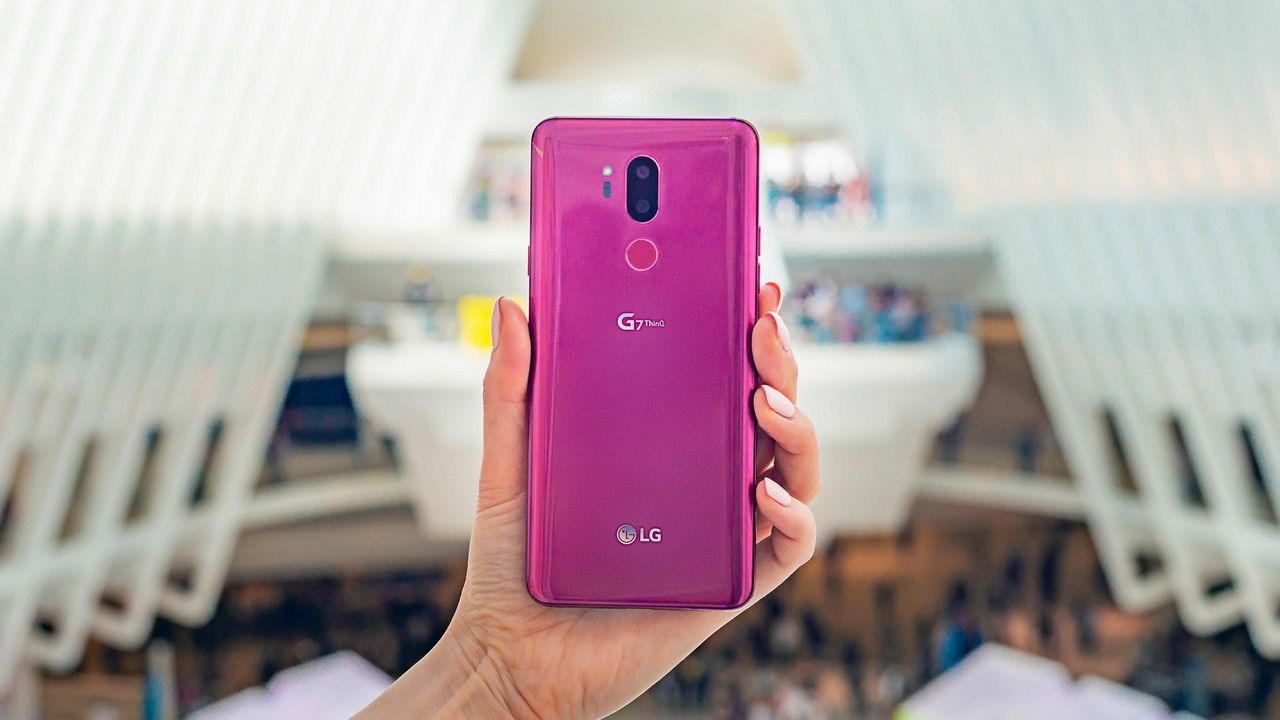 The LG G7+ThinQ also rocks a Snapdragon 845 chip. Image: LG Newsroom
