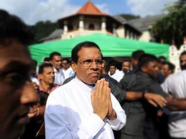 Sri Lankan president Maithripala Sirisena. AFP