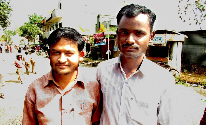 "Sandeep Bidve (right) says, ""Nobody will tell you they are being rejected, though that is the reality."