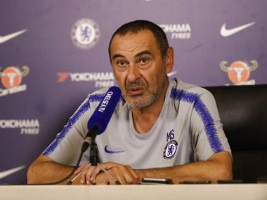 Europa League: Defiant Maurizio Sarri expects to stay at Chelsea next season despite troubled debut campaign