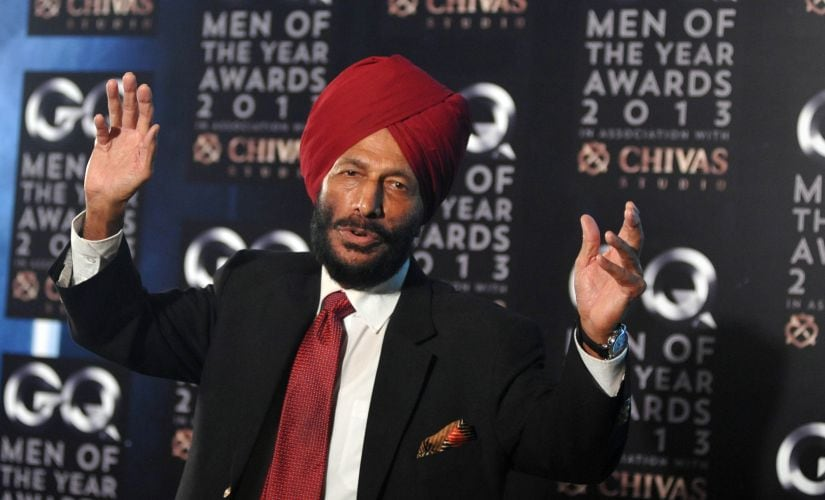 Milkha Singh finished fourth in the men's 400m final at the 1960 Rome Olympics. AFP