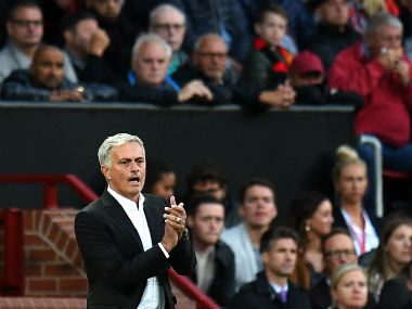 Manchester United boss Jose Mourinho has a mountain to climb in his third season at the club. AFP