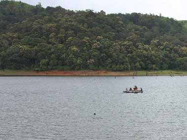 Mullaperiyar reservoir in Kerala. Reuters