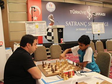 File image of India's 53rd Grandmaster Nihal Sarin. Image courtesy: Twitter @NihalSarin