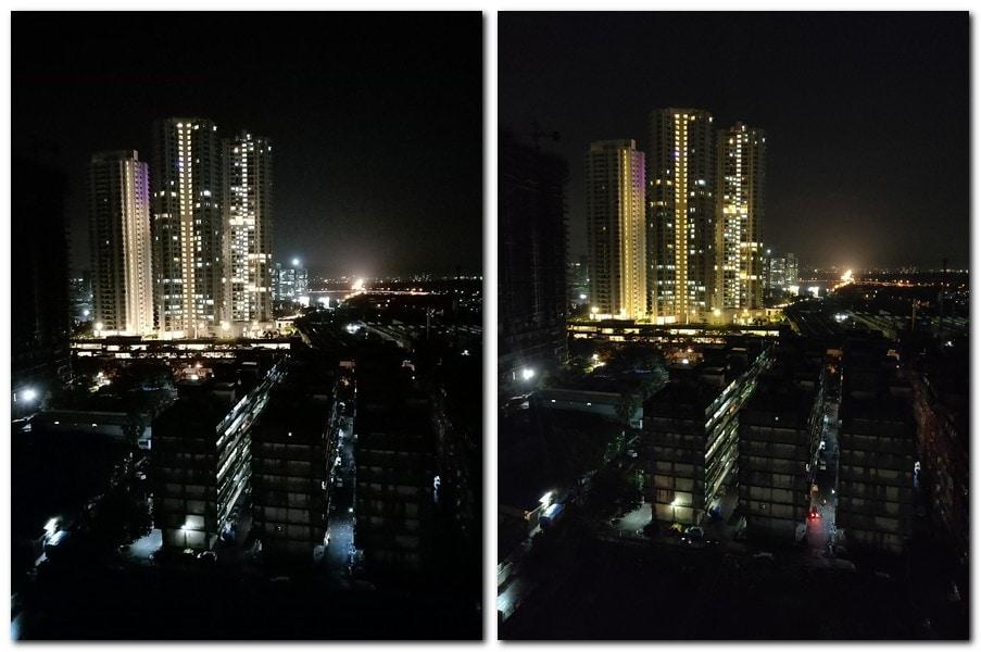 Oppo F9 Pro (L) vs OnePlus 6 (R)