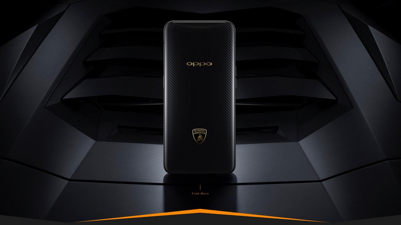 Oppo Find X Lamborghini Edition features Super VOOC. Image: Oppo China