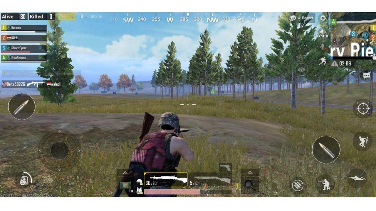 PUBG Mobile ran on the lowest graphic setting and still dropped frames while playing.