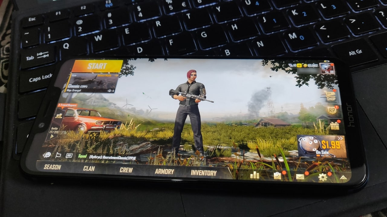 Ten university students arrested for playing PUBG mobile game