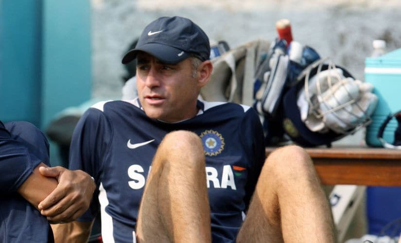 File image of Paddy Upton during his time as mental conditioning coach of Indian cricket team. AFP