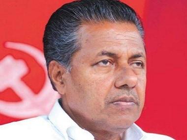 File photo of Kerala chief minister Pinarayi Vijayan. PTI