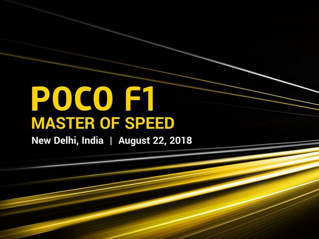 Xiaomi to launch Poco F1 on 22 Aug on Flipkart: Here's