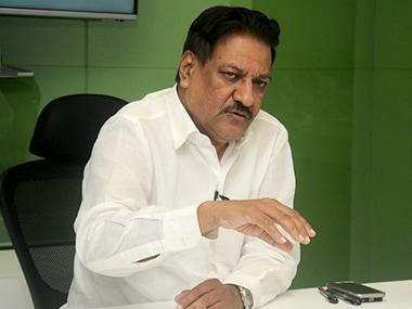 File image of former Maharashtra chief minister Prithviraj Chavan. Sachin Gokhale/Firstpost