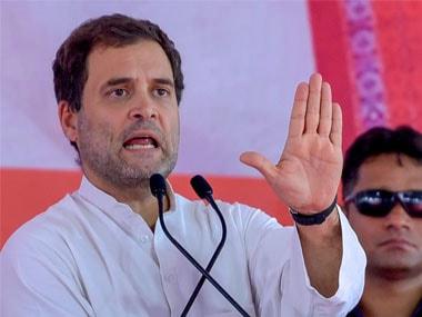 File photo of Congress chief Rahul Gandhi. PTI