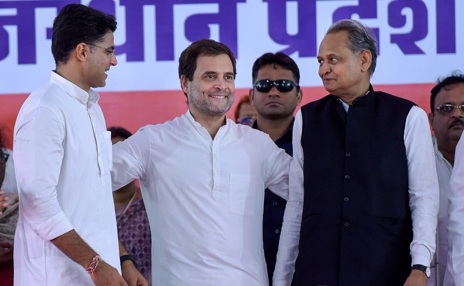 Rahul was also accompanied by AICC general secretary Ashok Gehlot. In his address, the Congress chief attacked Prime Minister Narendra Modi over Rafale deal, unemployment and farmer suicides. PTI