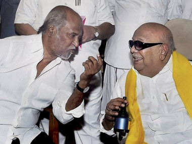 Karunanidhi passes away: From Rajinikanth to Mammootty, south film stars mourn demise of Kalaignar