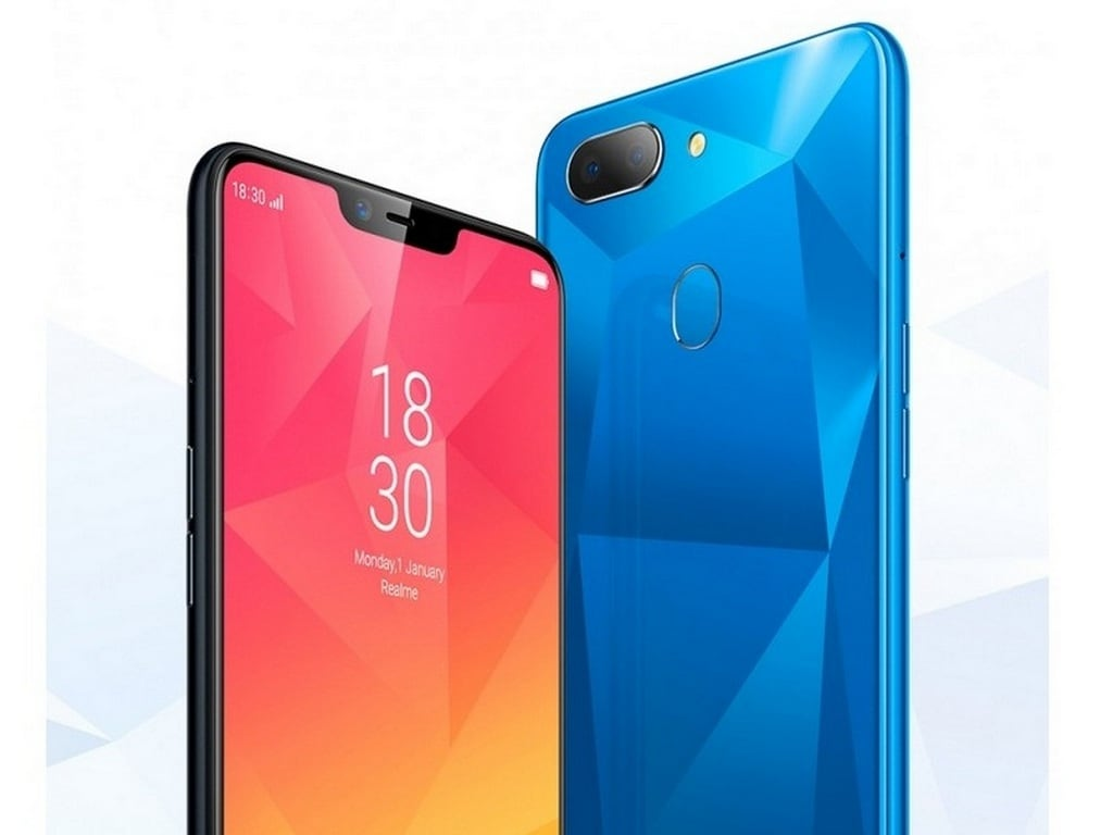 Leaked image of the Realme 2. Image: GSMArena