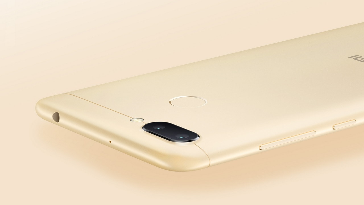 The Redmi 6 features a dual camera on the rear. Image: Xiaomi