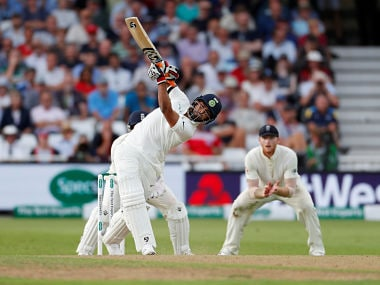Rishabh Pant announced himself in the Test arena with a six off the second ball he faced. Reuters
