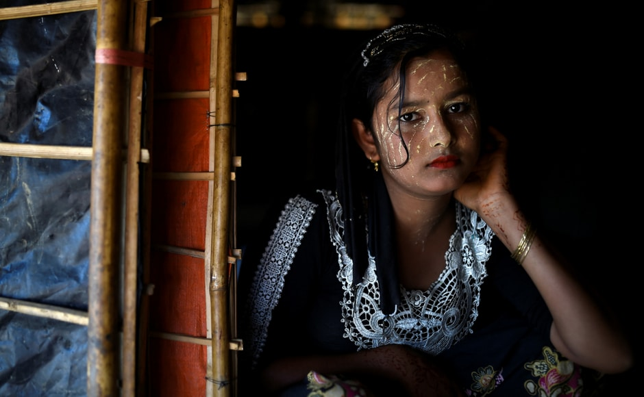 The 13-year-old Juhara Begum, for whom the paste is a comfort amid a gruelling life in the camps says,