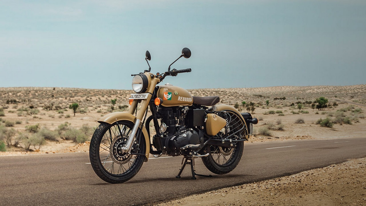 royal enfield classic signal 350 launched at rs lakh with dual channel abs technology news. Black Bedroom Furniture Sets. Home Design Ideas