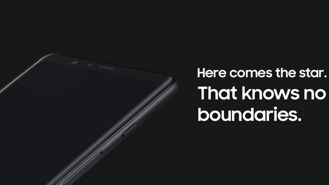 Samsung Galaxy A8 Star- Display. Image: Amazon