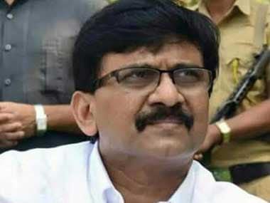 File image of Shiv Sena leader Sanjay Raut. Image courtesy: Twitter/@rautsanjay61