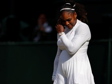 Serena Williams says she was thinking of slain sister Yetunde Price shortly before lopsided loss against Johanna Konta in July