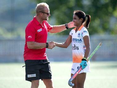 India coach Sjoerd Marijne. Image courtesy: Facebook @Hockey India