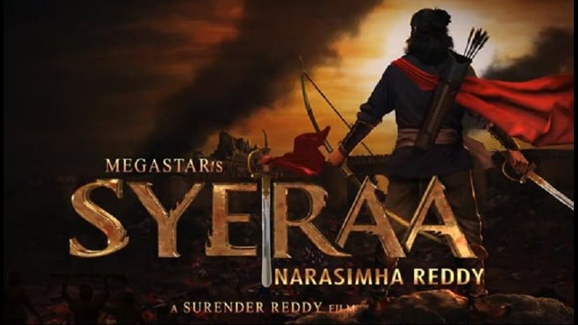 First look poster of. Sye Raa Narsimha Reddy. Facebook