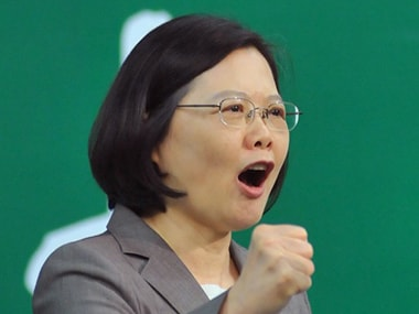 Taiwan president gives speech in US after 15 years, vows to promote regional stability 'under principle of democracy'