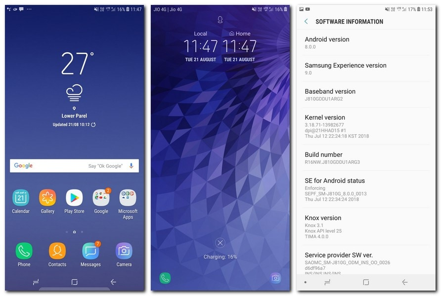 Samsung Experience UI is only idle for those who are used to Samsung devices.
