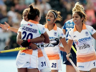 File image of Indian women's hockey team. Image courtesy: Official FB page of Hockey India