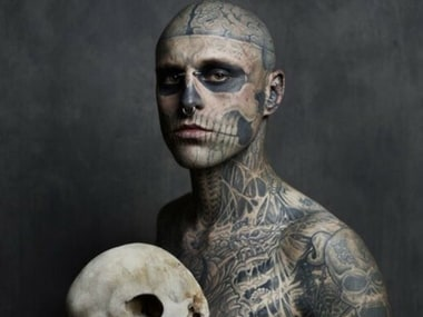 Rick 'Zombie Boy' Genest dies aged 32, Lady Gaga mourns model who featured in 'Born This Way'