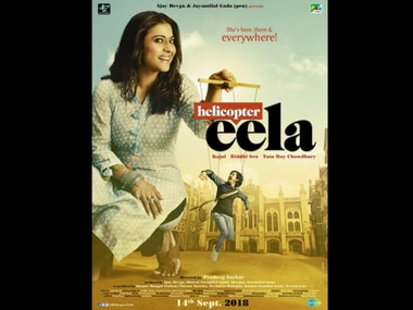 Kajol's dual look in Pradeep Sarkar's Helicopter Eela will reportedly span almost 30 years, from 1990 to 2018