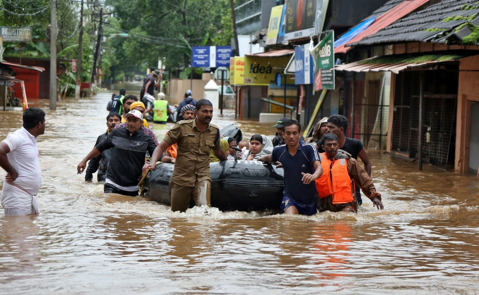 India's communists call for aid in the wake of 'unprecedented' Kerala floods