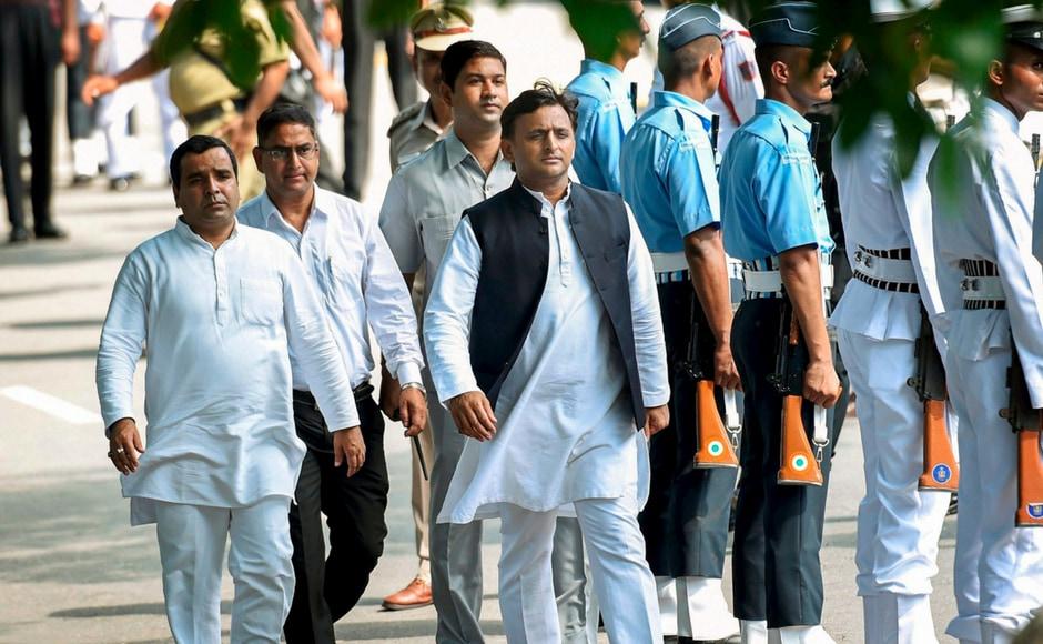 Samajwadi Party president Akhilest Yadav mourned Atal Bihari Vajpayee, saying Vajpayee's demise was the