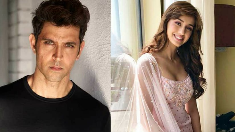Hrithik Roshan (left) and Disha Patani (right). Image from Facebook