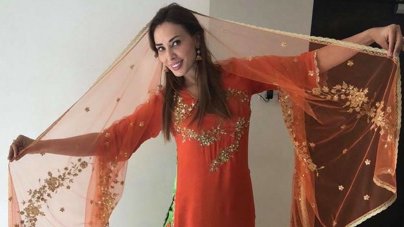 Image result for images of Iulia Vantur to play a Krishna Bhakt in her debut film