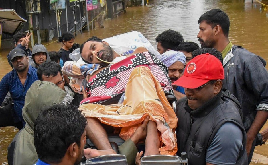 Over 20,000 people were rescued by the armed forces on Sunday. More than 2,000 people were provided with medical aid. PTI