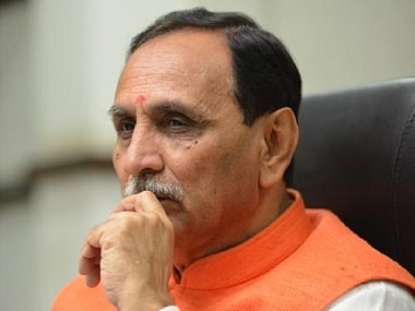 File image of Vijay Rupani. PTI